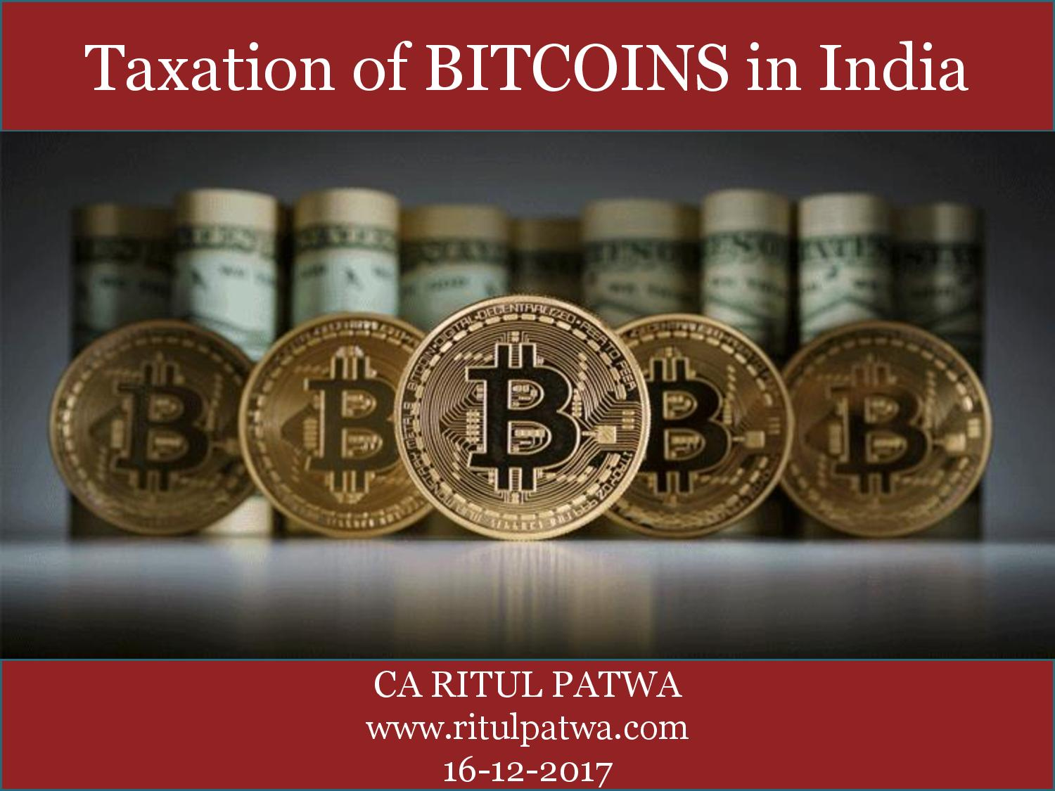 BITCOINS IN INDIA